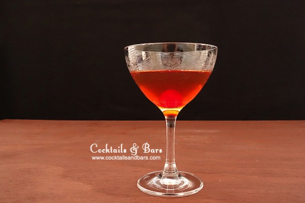 Blood and Sand Cocktail Recipe