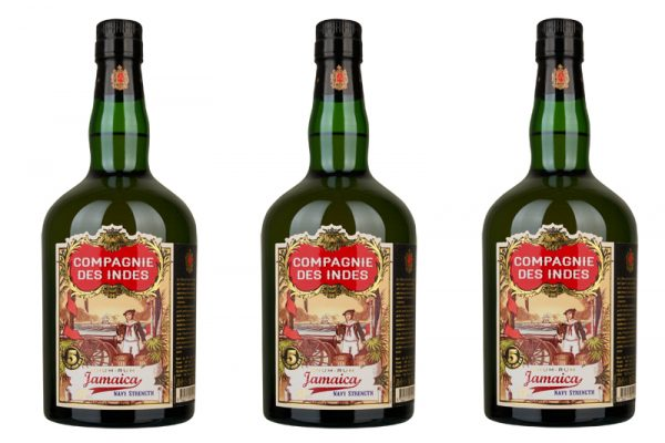 "Compagnie des Indes Jamaica 5 Year Old ""Navy Strength"" Rum"