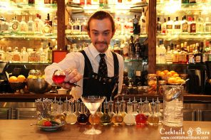 Martinis & Tinctures: The Barber Shop's Martini Project