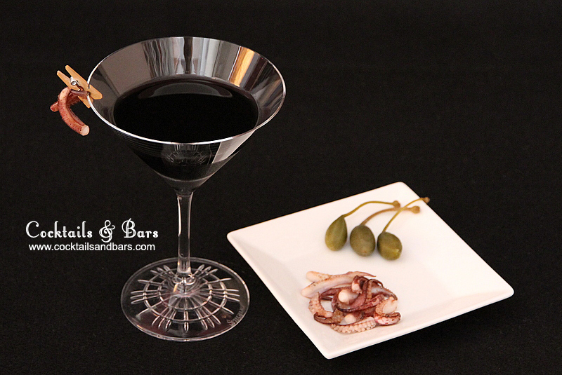 Squid Ink Martini