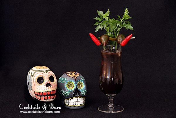 Day of the Dead Cocktails: La Diabolita