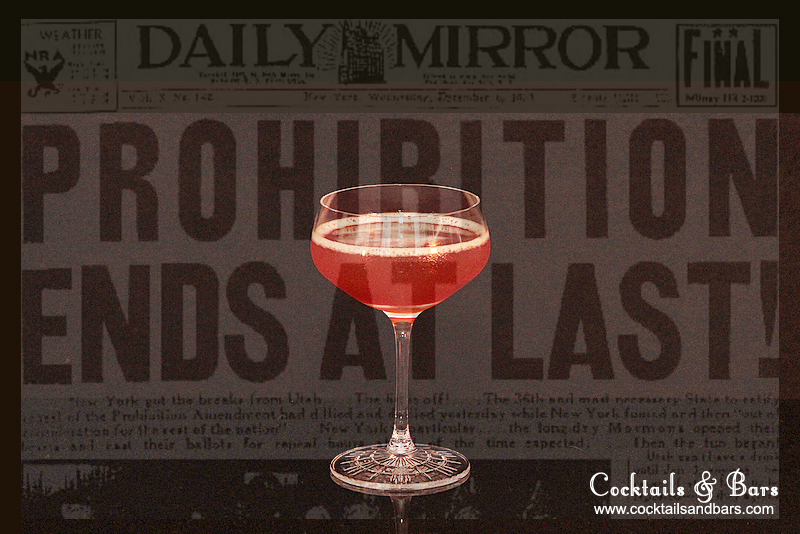Repeal Day Cocktails