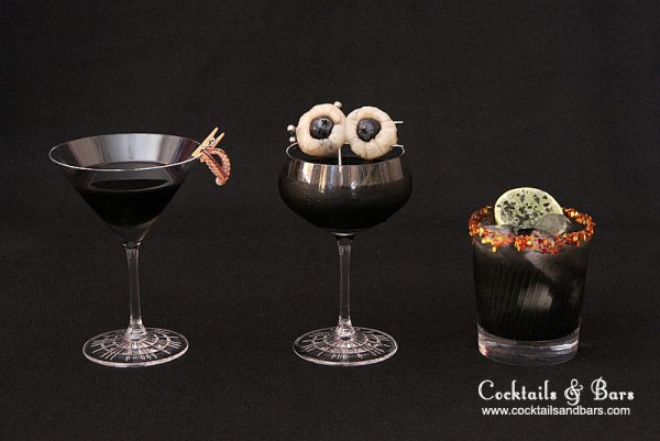 Squid Ink Cocktails