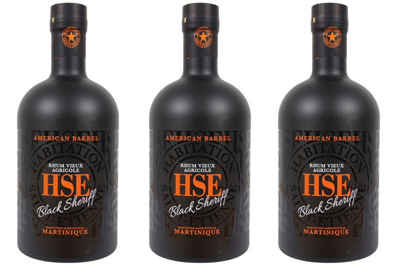 HSE Black Sheriff Agricole Rum