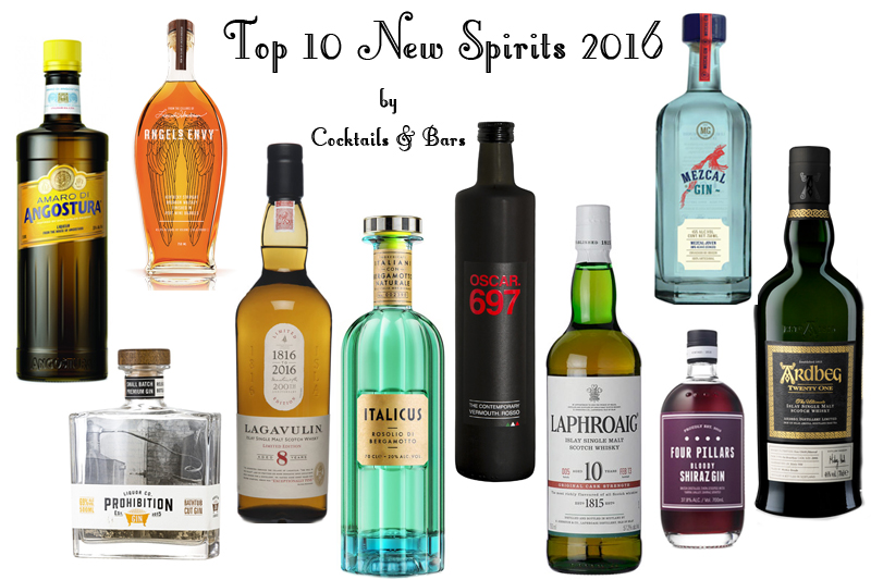 Top 10 New Spirits 2016