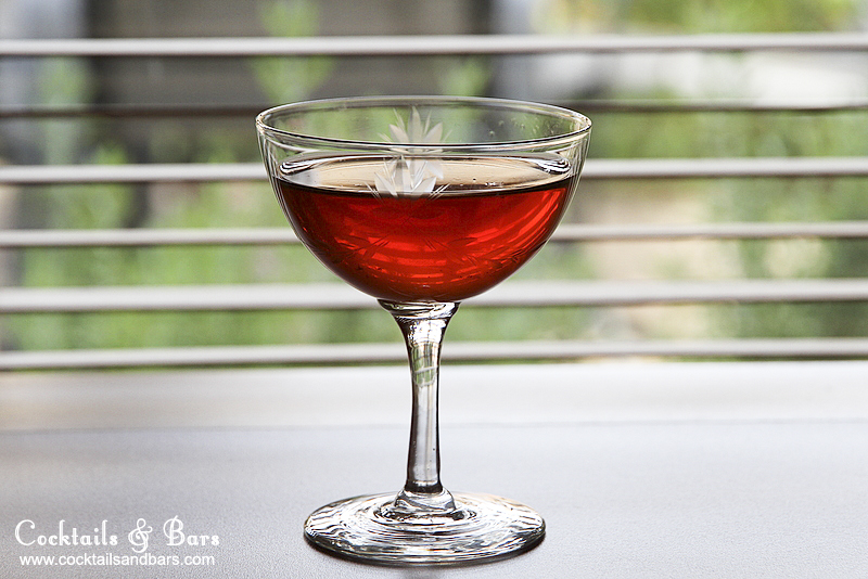 The Tipperary Cocktail Recipe - Cocktails & Bars