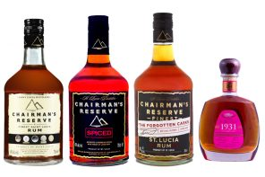 Chairman's Reserve Rum, Chairman's Reserve Spiced, The Forgotten Casks & 1931 Fifth Edition