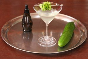 Cucumber Martini for World Cucumber Day