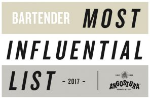 Bartender Magazine Announces Top 100 Most Influential List 2017