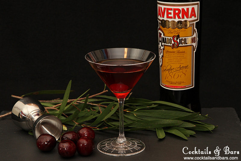 Black Manhattan Cocktail Recipe