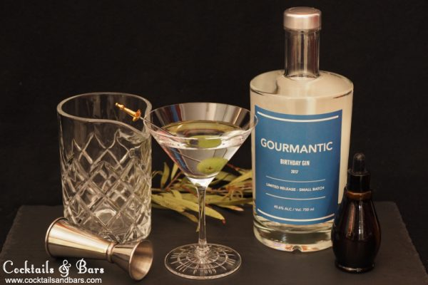 Olive Oil Washed Martini