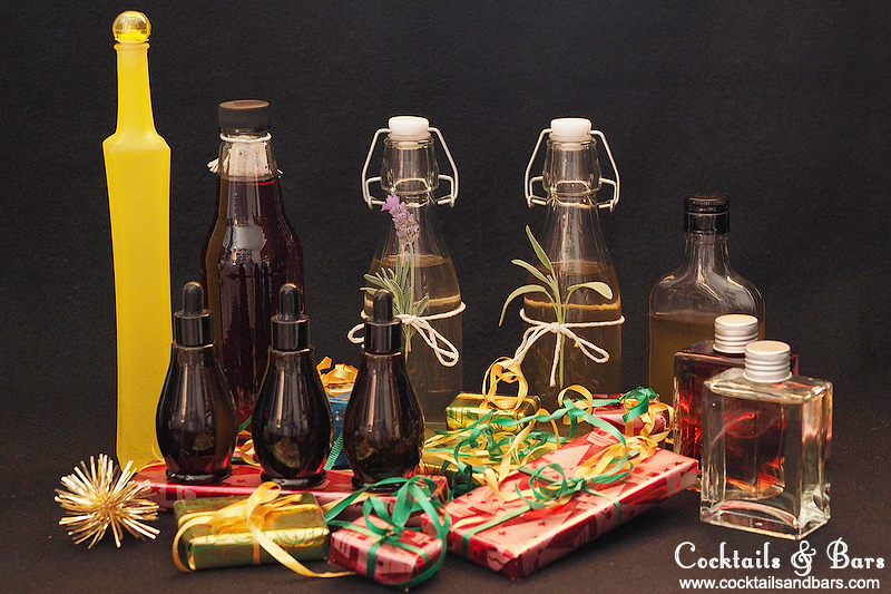 DIY Christmas Gifts for the Home Bartender