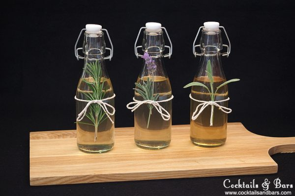 DIY Herb-Infused Syrups