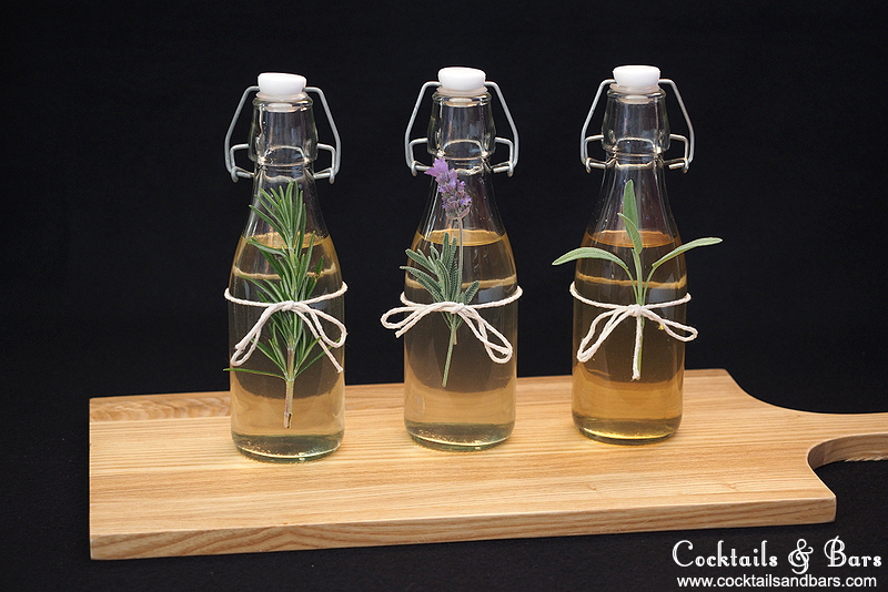 How to Make Herb-Infused Simple Syrups