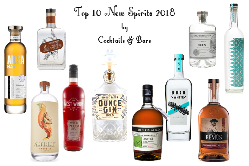 Top 10 New Spirits 2018 Cocktails Bars
