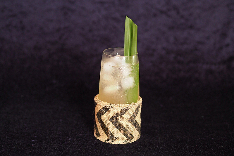 Coco Pandan Cocktail